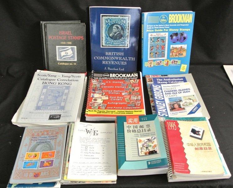 15: Useful Philatelic Reference Literature Lot