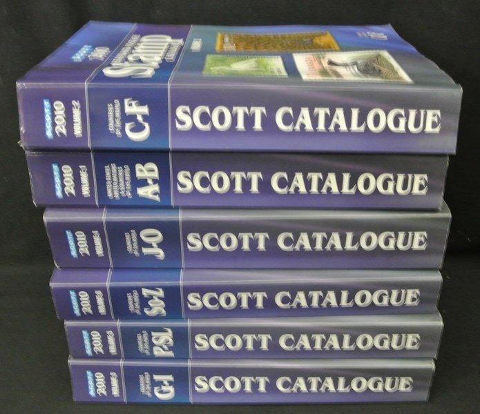 16: 2010 Scott Catalogs Volume 1-6