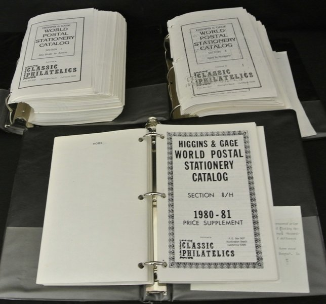 20: Higgins & Gage Worldwide Stationery Catalog