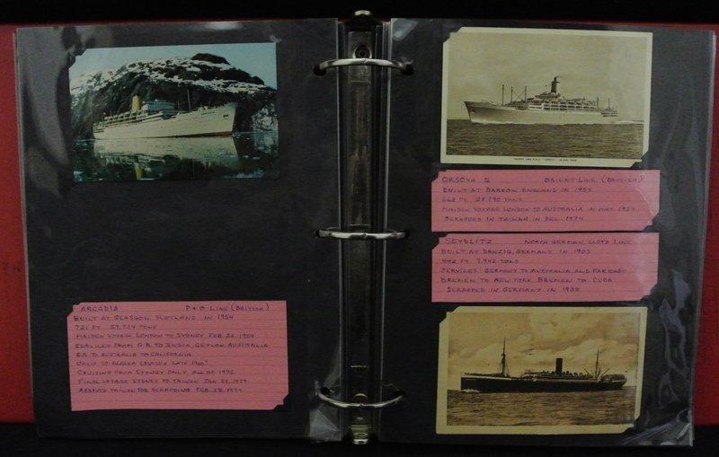 22: Ship Topical Postcard Lot