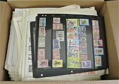 846: Balance of One Man's Stamp collection