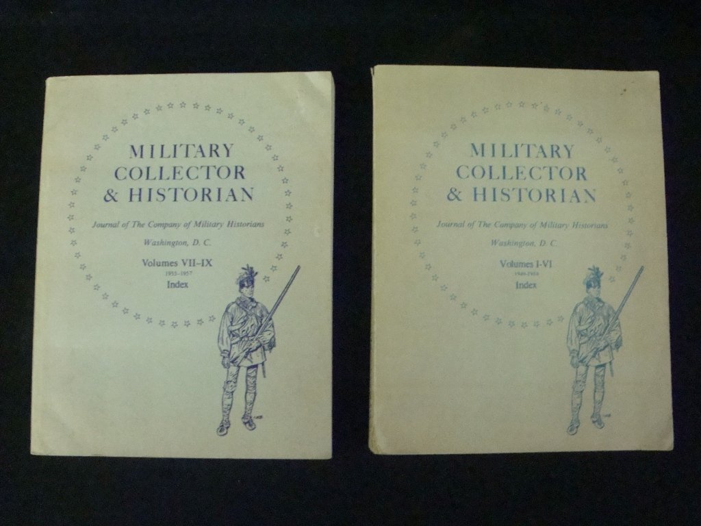 Military Collector & Historian, Journal of the Company