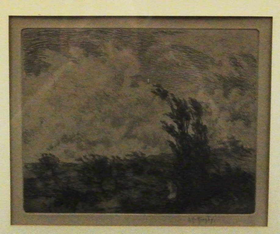 Lester George Hornby Signed Etching