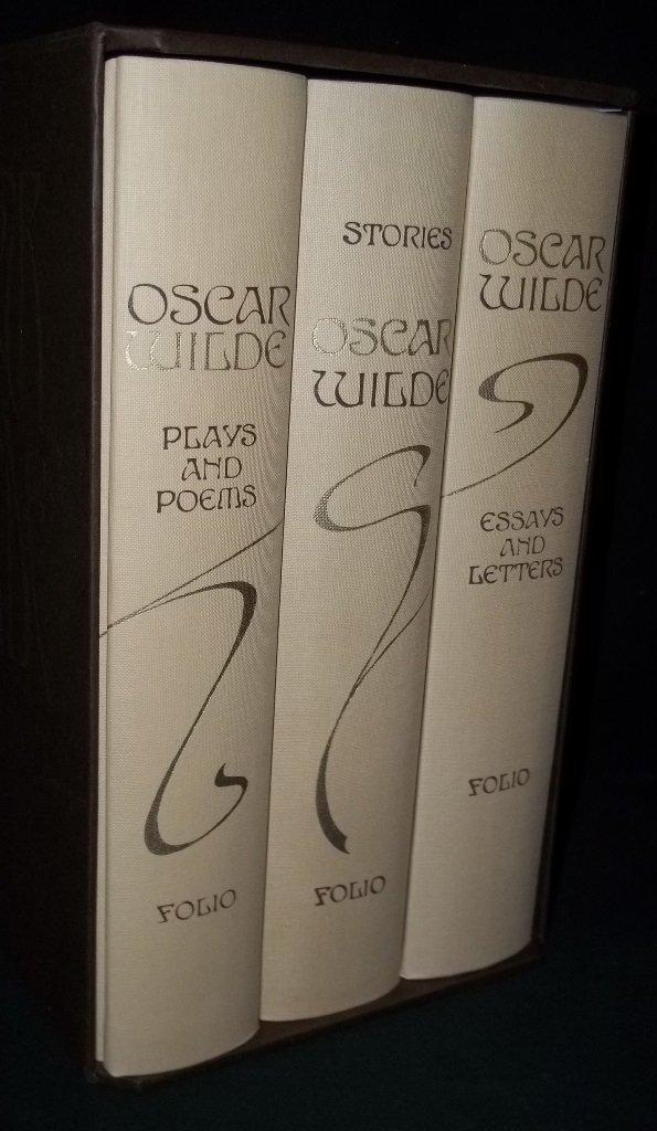The Works of Oscar Wilde, 3 Volume Set in Slipcase