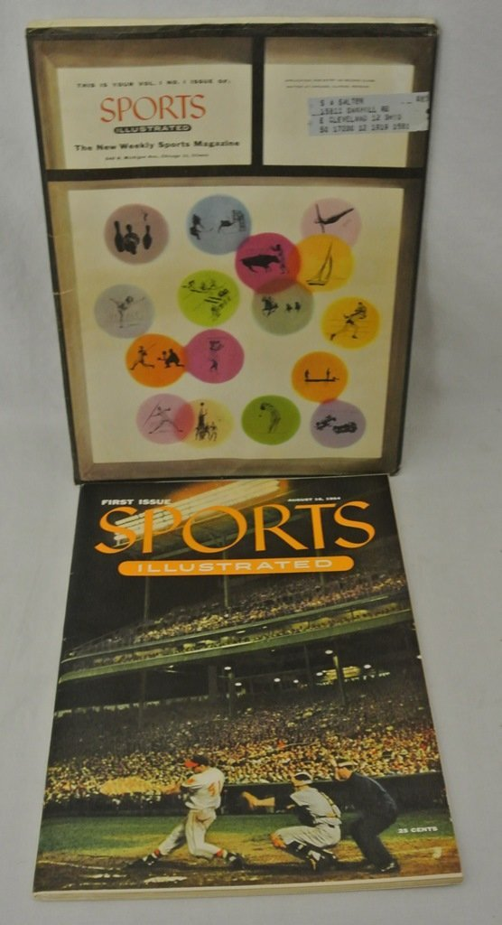 Sports Illustrated Vol.1 Number 1 Original Mailing Slee