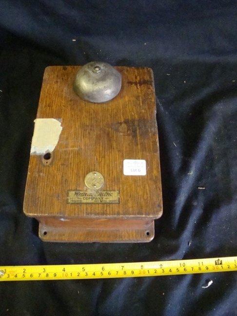 Western Electric Oak 21-D condenser