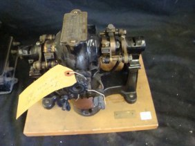 CROCKER-WHEELER ELEC.CO. N.Y. BIPOLAR ELECTRIC MOTOR 1/