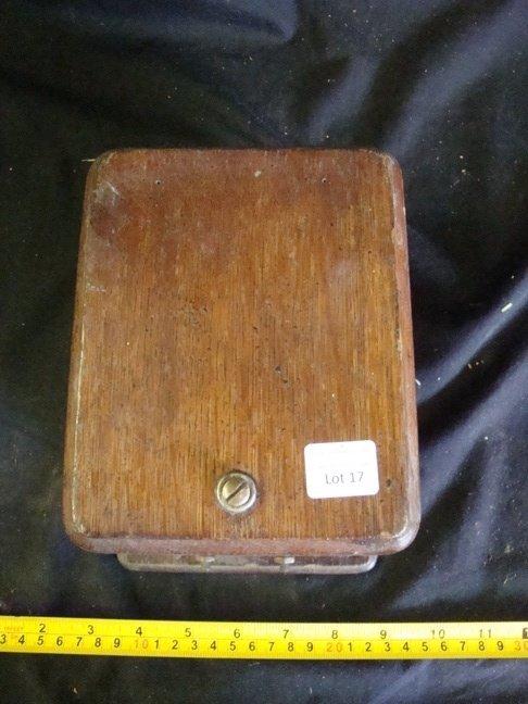 Oak Ringer Box