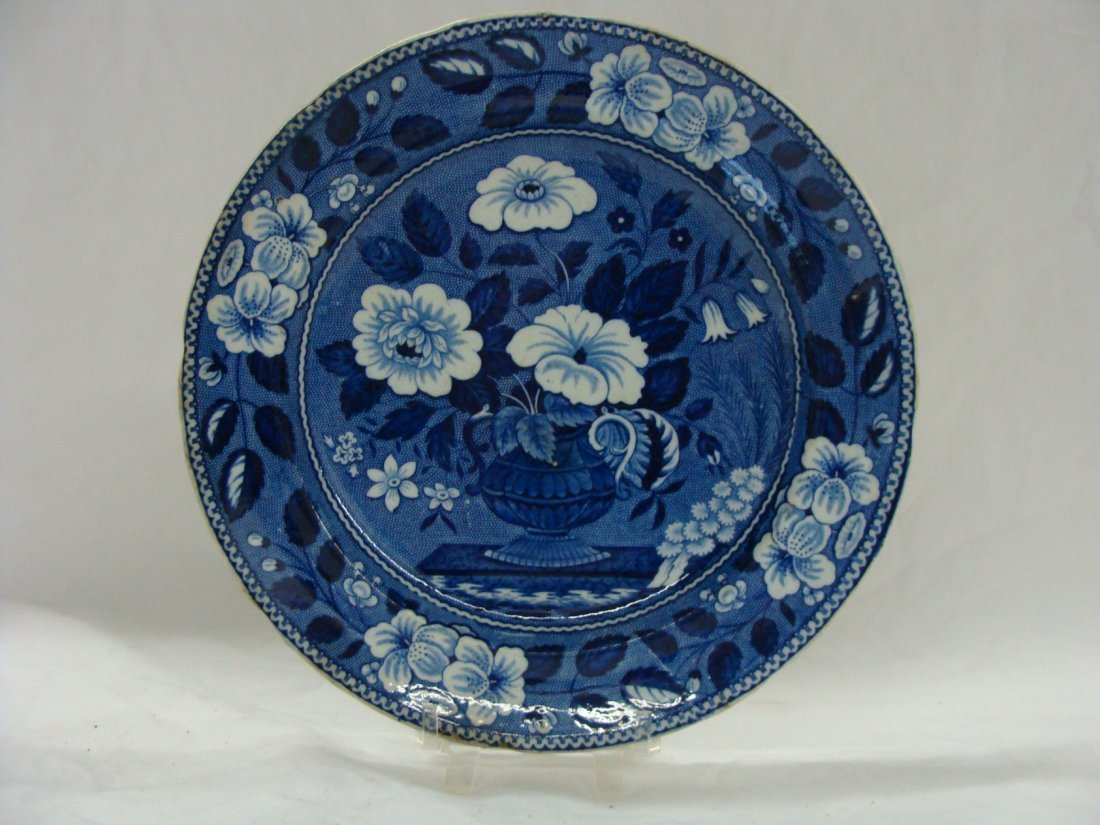 19th Century Riley's Semi China Plate