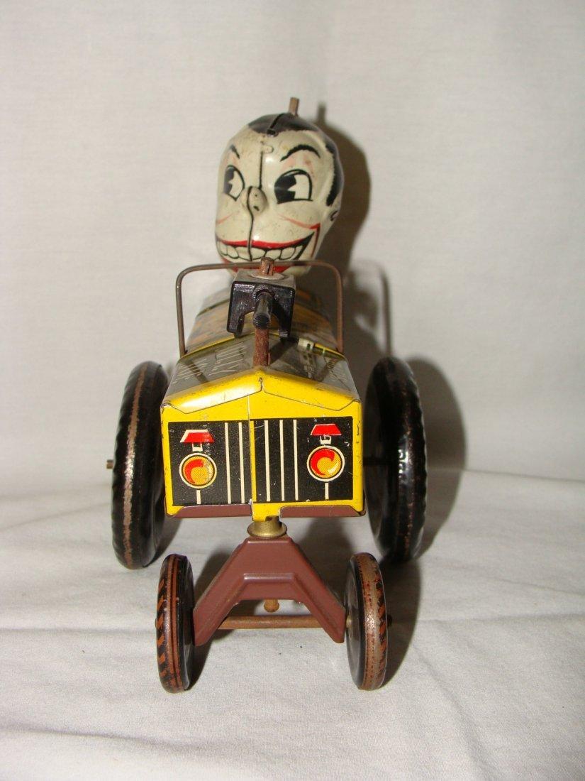 MARX Jolly Joe Wind Up Tin Toy Jeep - 3