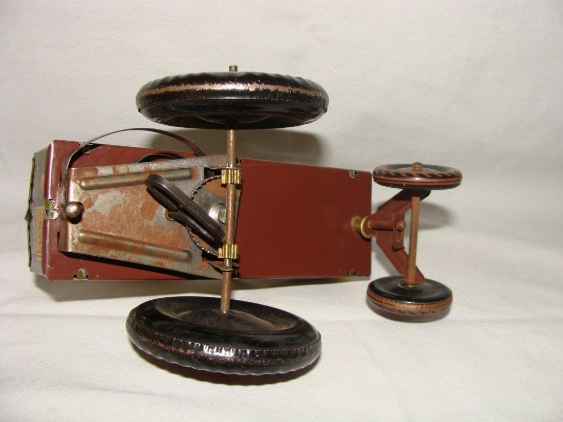 MARX Jolly Joe Wind Up Tin Toy Jeep - 5