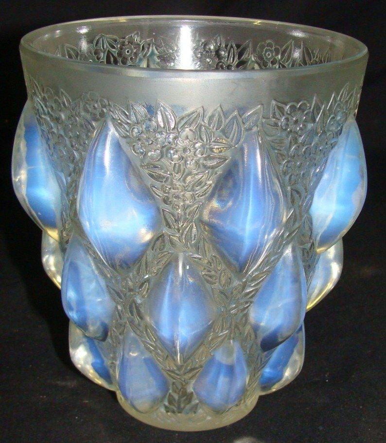 Rene Lalique Rampillon Vase No. 991