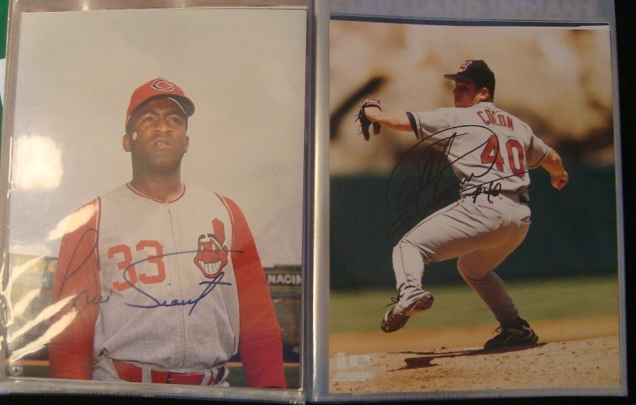 Lot of (30+) Signed 8x10 Baseball Photos Tiant,