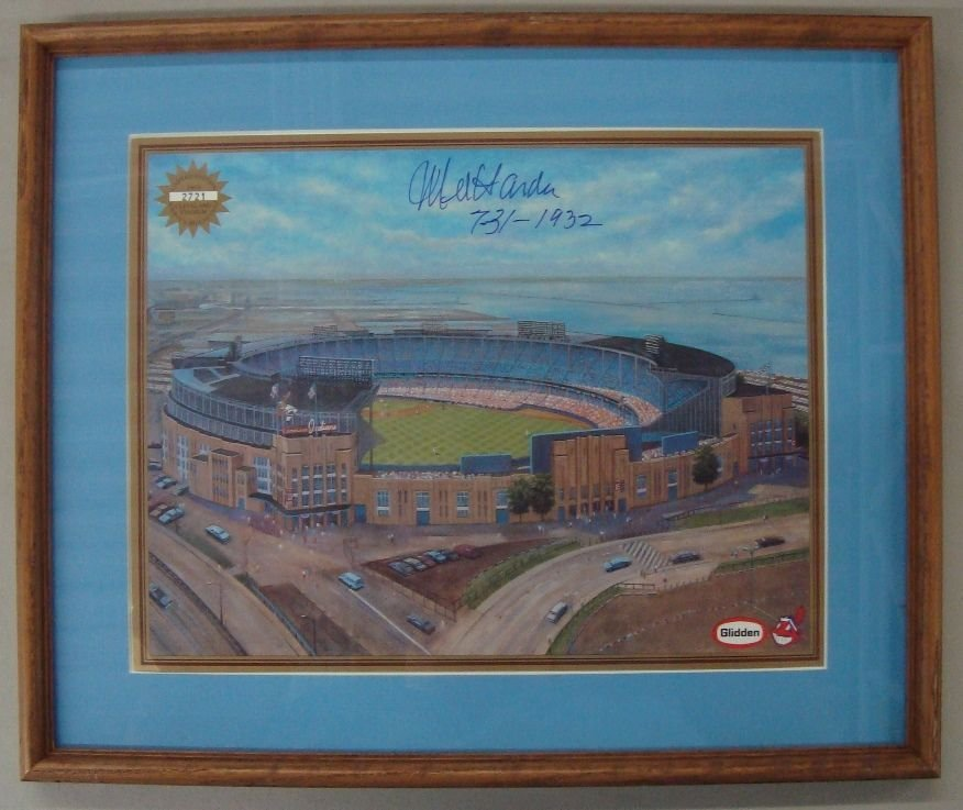 Mel Harder Autographed Limited Edition Cleveland