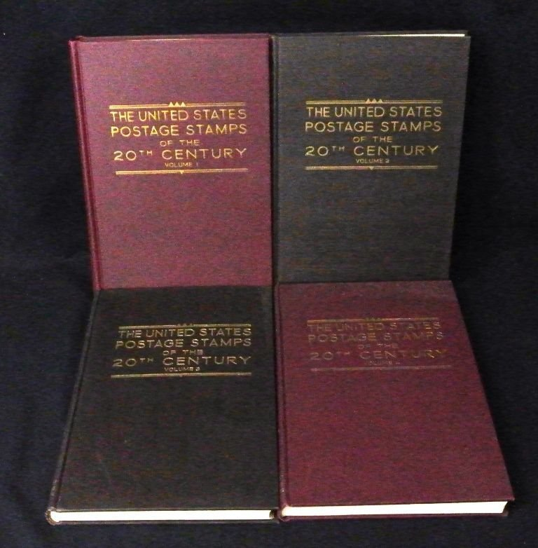 The United States Postage Stamps (4)Volumes by Max Johl