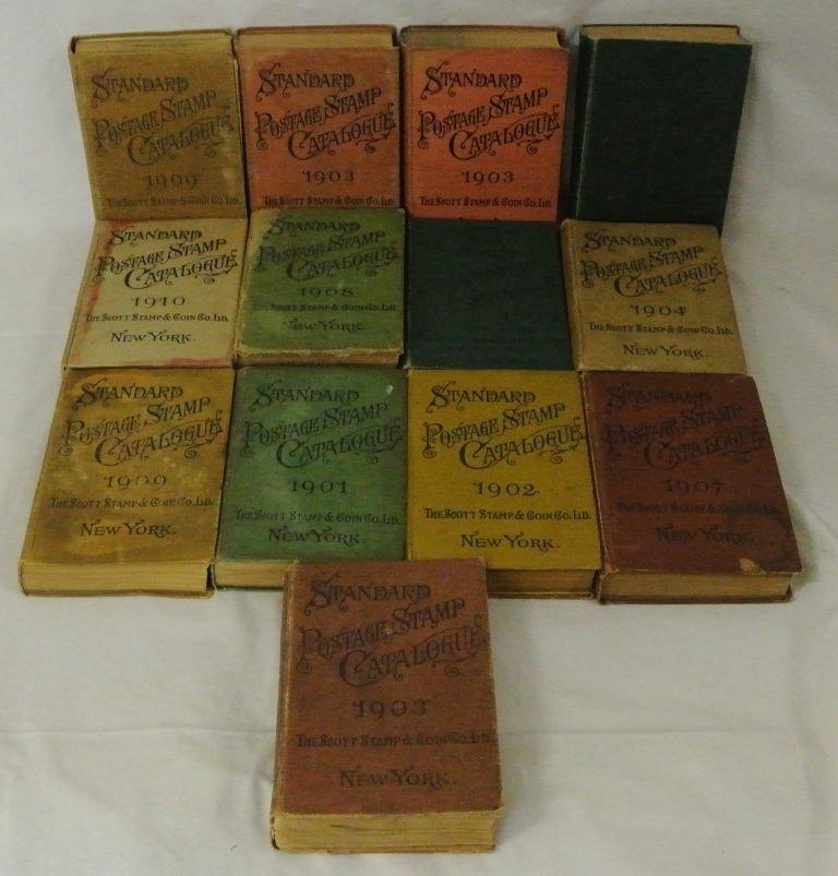 (13)Scott Catalogs 1895//1909