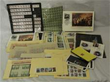 Balance of One Mans United States Stamp Collection