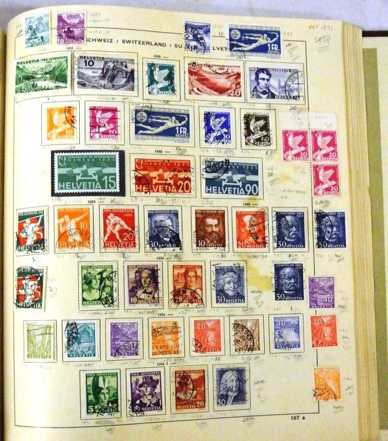 Worldwide Stamp Collection in a Schaubek Album to 1943 - 6