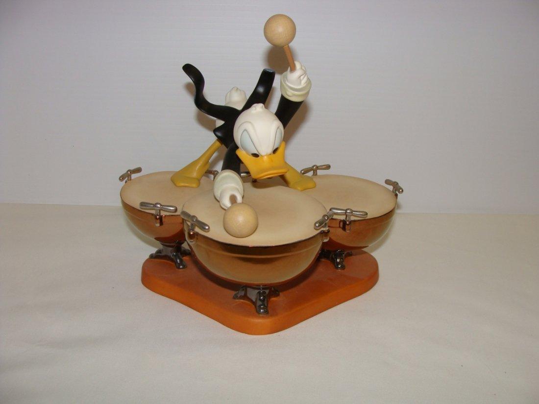 WDCC Donald's Drum Beat Disney's Symphony Hour