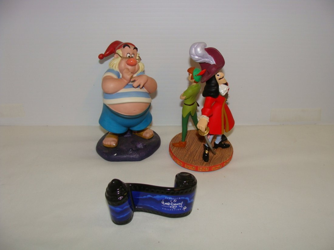 Disney WDCC Peter Pan Figures Lot