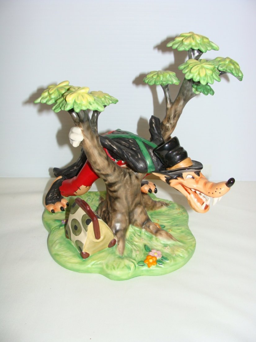 Who's Afraid of the Big Bad Wolf  LE WDCC Figurine