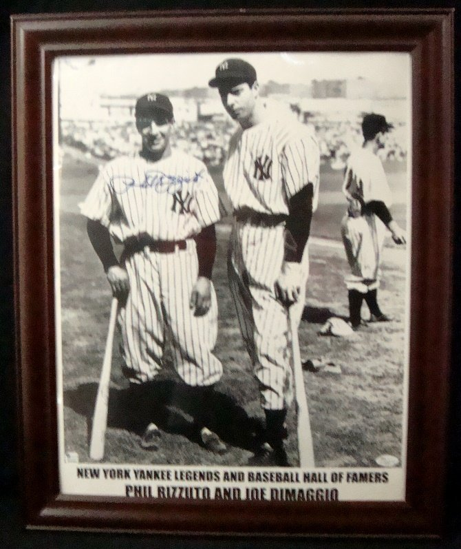 Phil Rizzuto NY Yankees Legends & Baseball HOFers