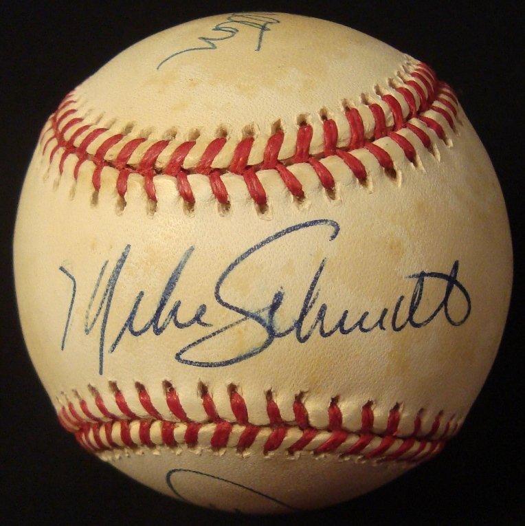 Phillies 'Milestones' Triple Signed Baseball, Rose,