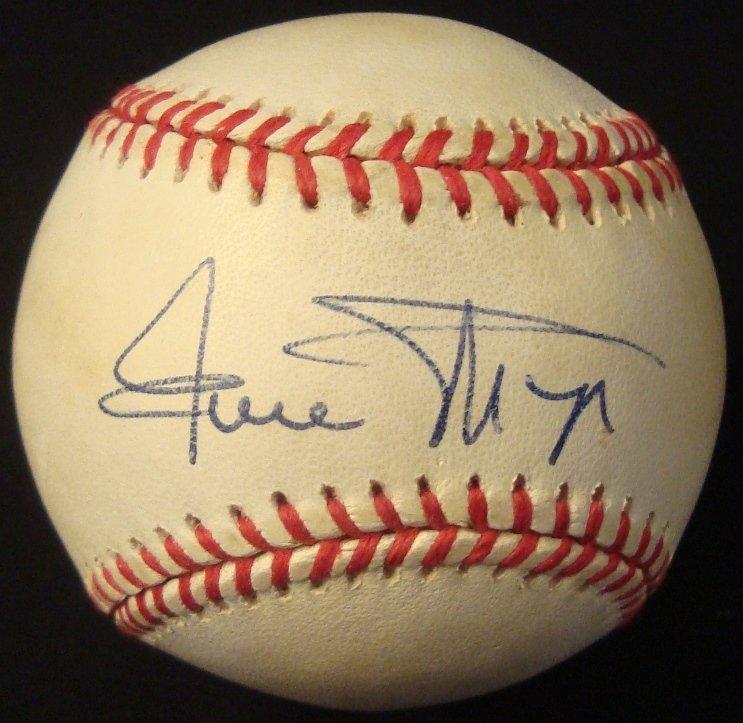 Willie Mays Single Signed Baseball, JSA LOA