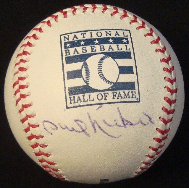 Phil Niekro Single Signed Baseball Hall of Fame Ball,