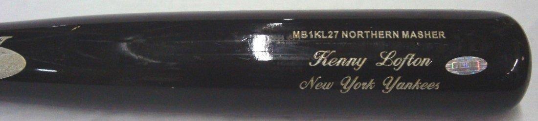 Kenny Lofton NY Yankees Game Used Bat, Steiner