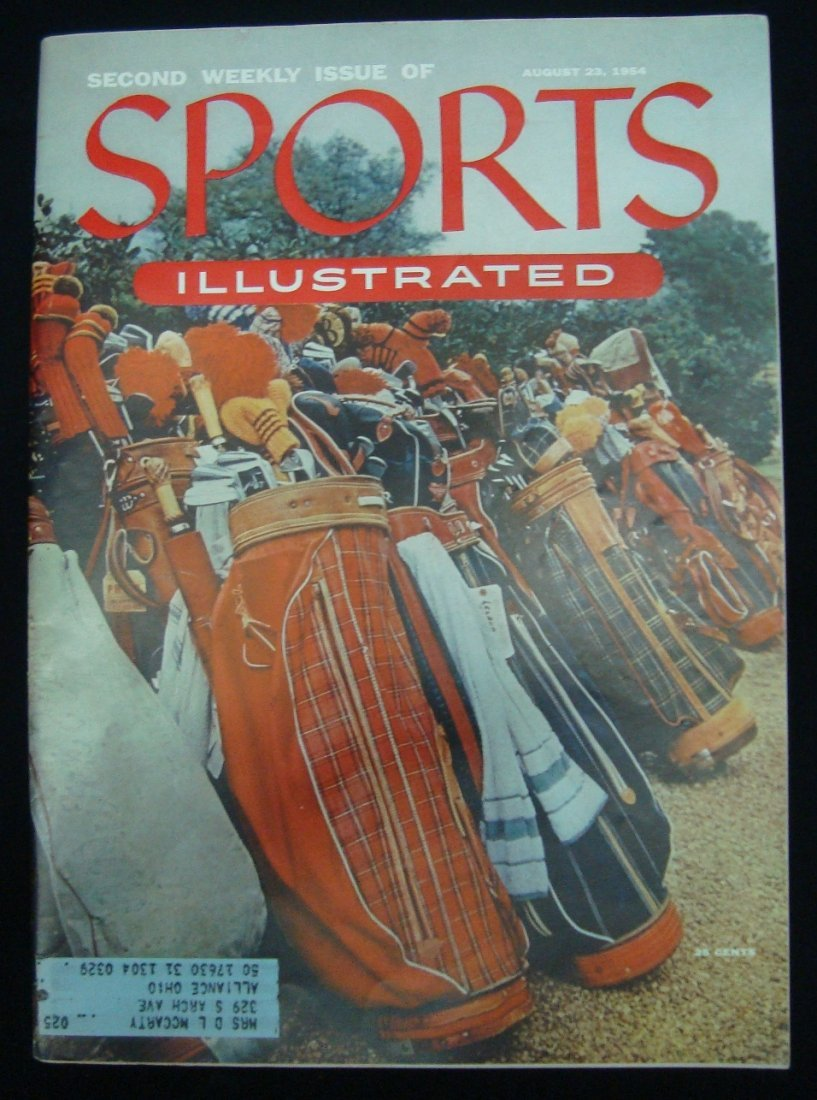 1954 Sports Illustrated Second Issue