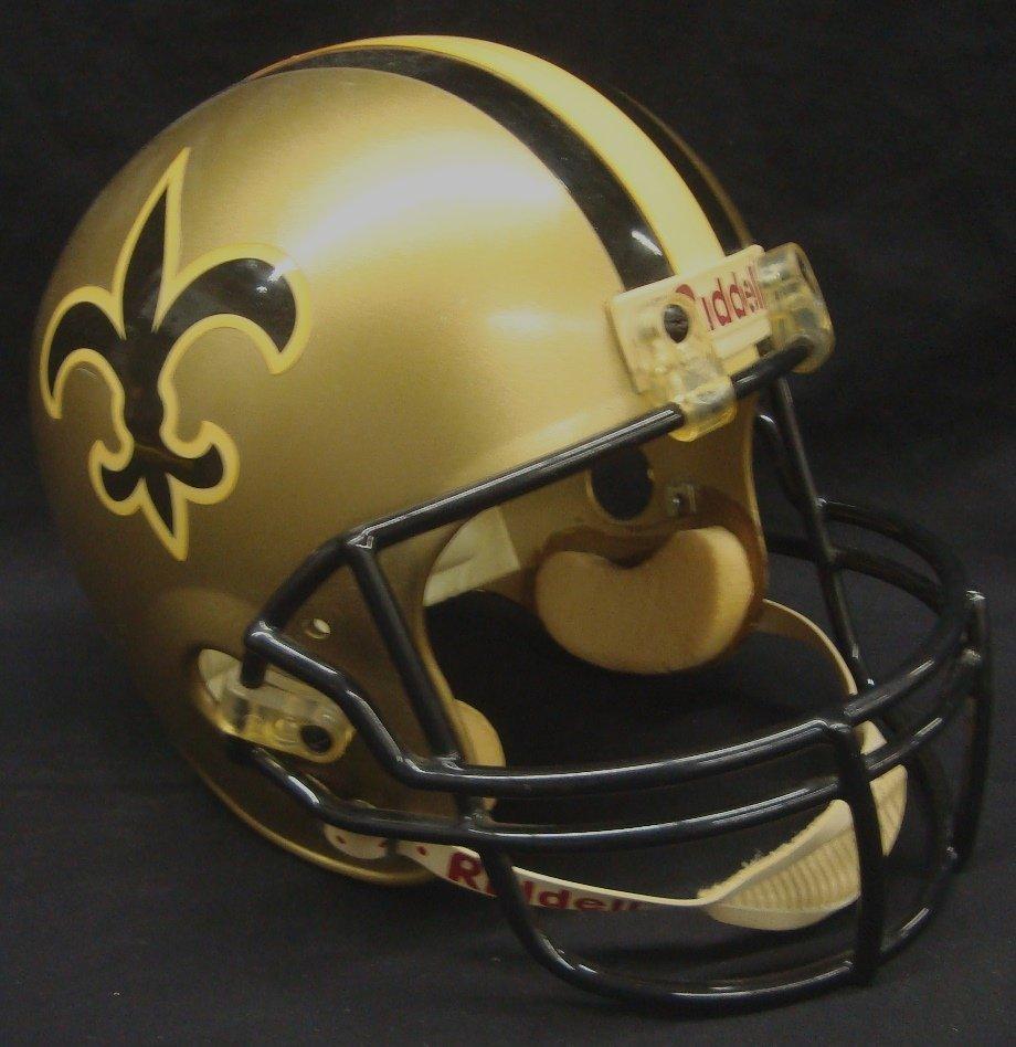 Riddell New Orleans Saints Gold Full Size Replica