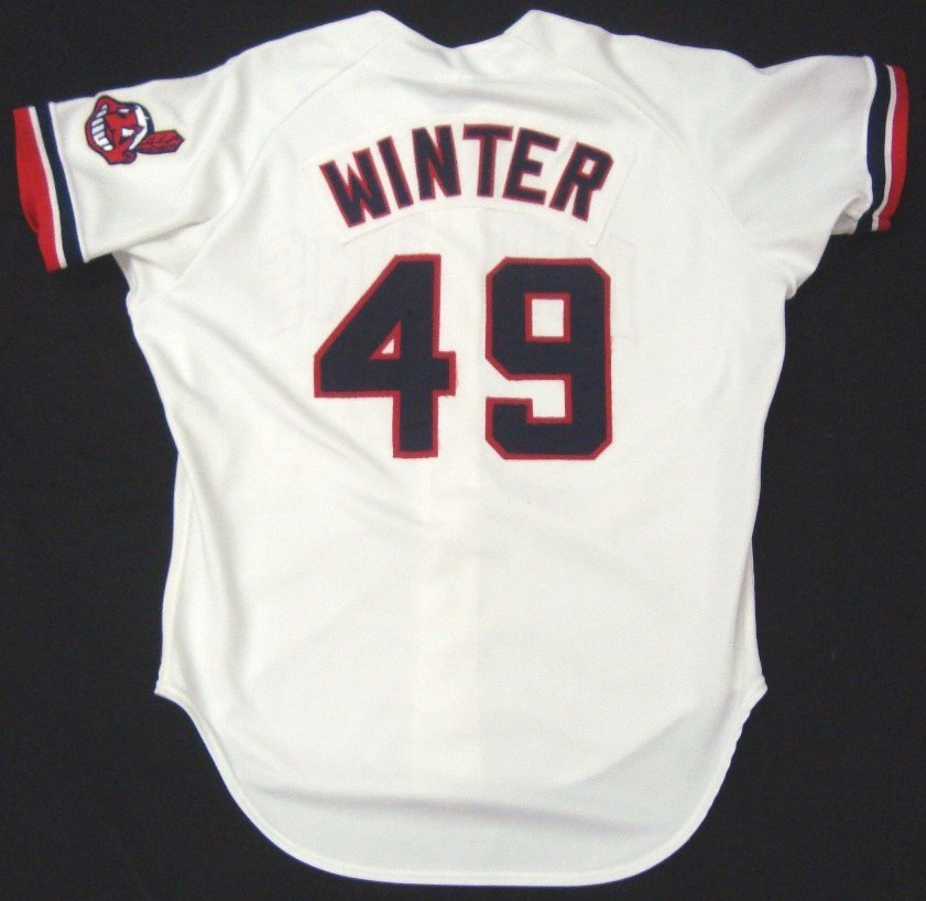 'Major League' Movie Worn Cleveland Indians Jersey