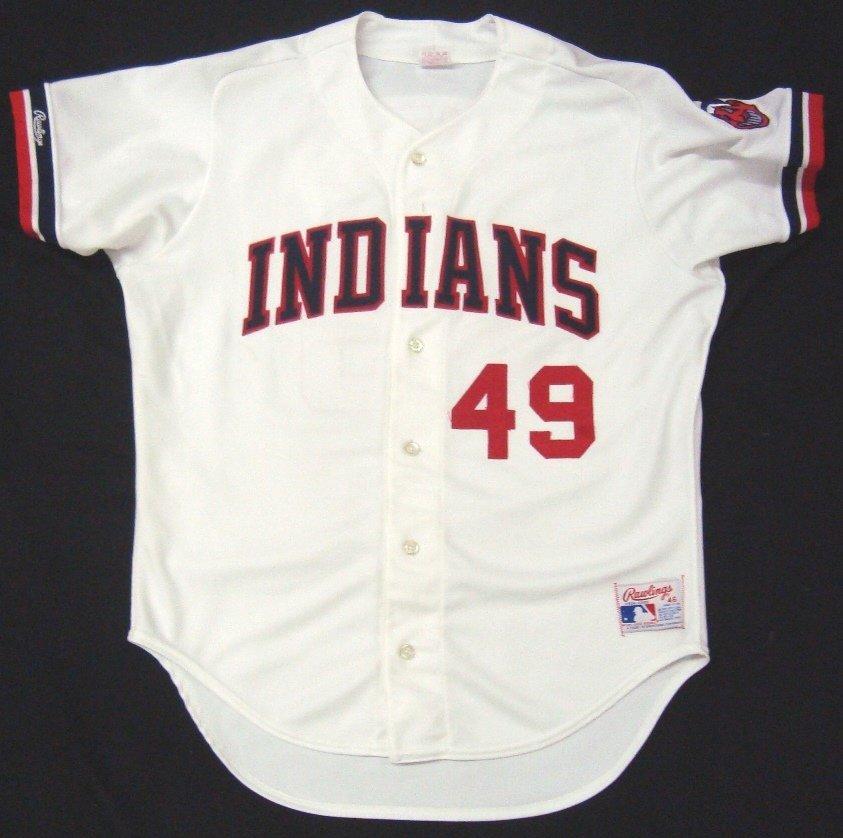 'Major League' Movie Worn Cleveland Indians Jersey - 3