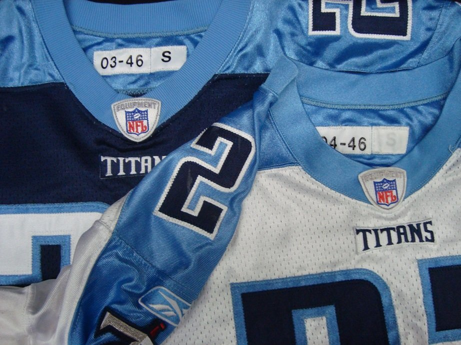 Donnie Nickey Tennessee Titans Home and Away Game Worn - 2