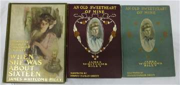 Howard Chandler Christy ill James Whitcomb Riley Books