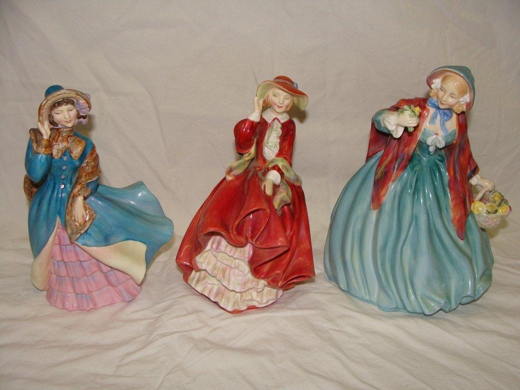 Lot 3 Royal Doulton Ladies Figurines