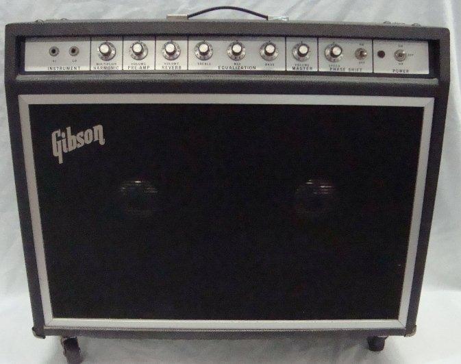 Vintage Gibson G105 2x12 Guitar Amplifier