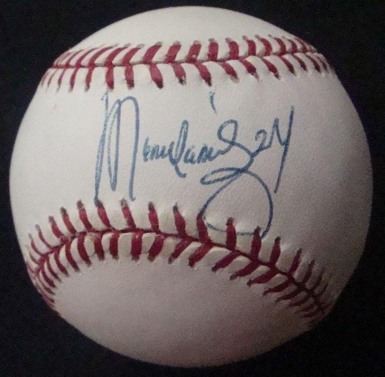 Manny Ramirez Single Signed Baseball
