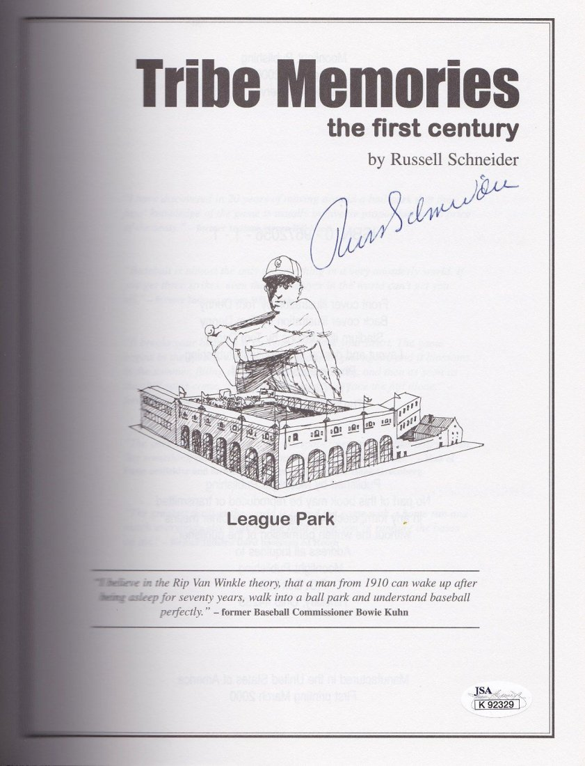 'Tribe Memories: The First Century' Signed by Author,