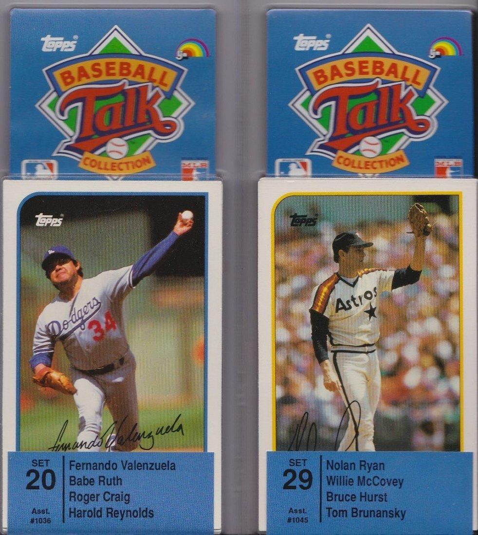 "1989 Topps / LPN Unopened ""Talking Baseball"" Complete"
