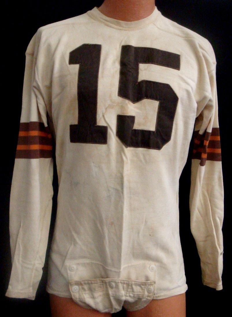 Bert Rechichar 1952 Cleveland Browns Game Worn Jersey