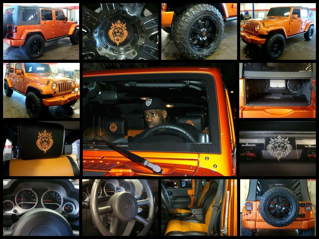 Lebron James Previously Owned 2010 Jeep Wrangler