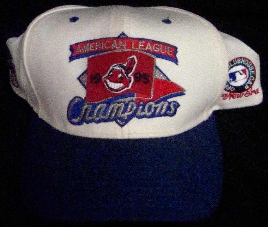 1995 Cleveland Indians Autographed Hat