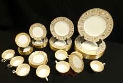Wedgwood Gold Florentine 58 pc. China Set