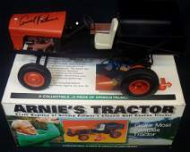 Arnold Palmer Autographed 'Arnies Tractor' Scale