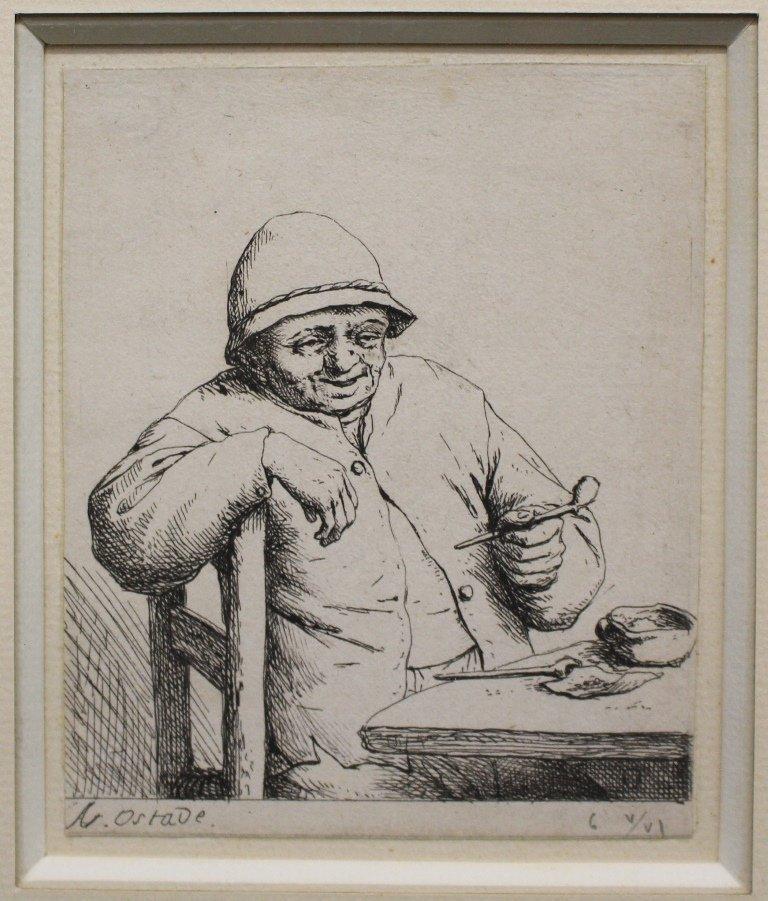 Adriaen Jansz van Ostade 1610-1685 Etching