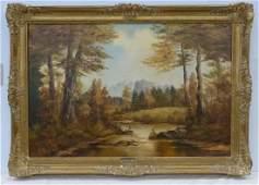 Julius Friedrich Oil on Canvas
