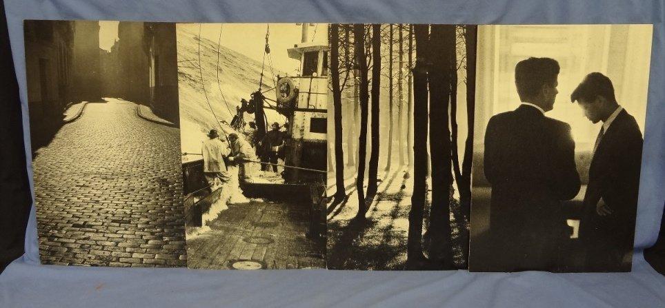 (4) Photographs on Board JFK, RFK Jacques Lowe, 3
