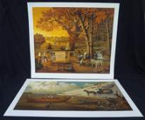 Charles Wysocki Signed and Numbered Lithographs (2):